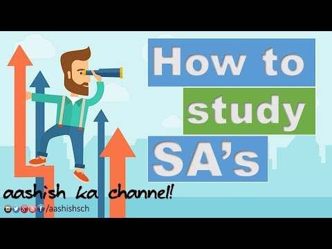 CA Final - Standards on Auditing|How to study? - Must watch!