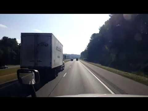 BigRigTravels LIVE! Christiana, Tennessee to Cusseta, Alabama I-24, I-75, I-285, I-85-Oct. 8, 2018