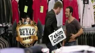 "Kivanc Tatlitug & Riza Kocaoglu Promoting for "" Beyaz Show 2011 "" - Kuzey Guney Scene"