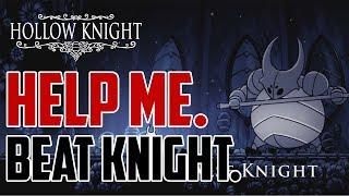 Hollow Knight : How to Beat False Knight (Mace Wielding First Boss)