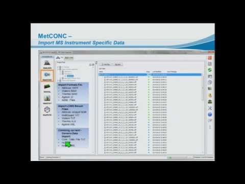 "Mass Spectrometry Based Metabolomics Data Management Software ""From Sample to Metabolic Pathways"""