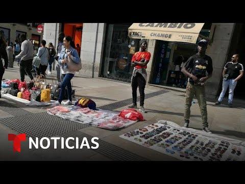 'Pantera´, una casa para los manteros africanos de Madrid | Noticias Telemundo