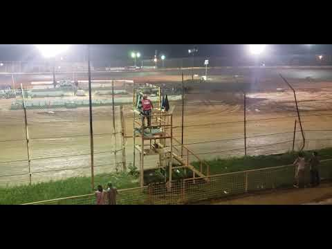 Eco stock racing at 105 speedway 06-01-19.  Feature race