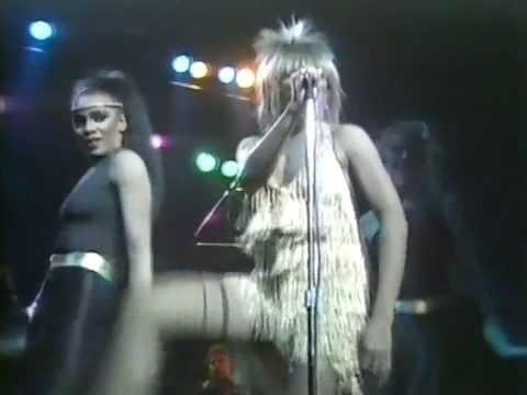 TINA TURNER - HONKY TONK WOMAN(LIVE 1982)
