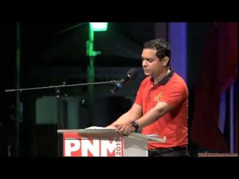 People's Neople's National Movement in San Fernando. July 28, 2015 - San Fernando , Trinidad
