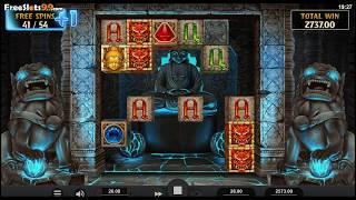 Temple Tumble Megaways Slot BONUS GAME