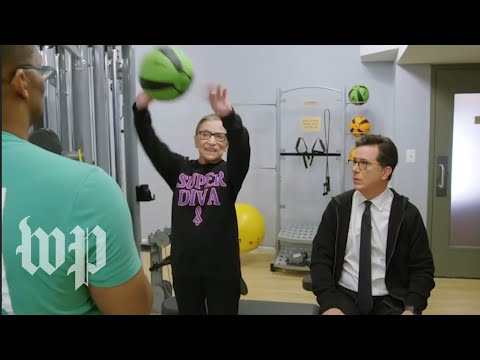 How to work out like 'Notorious RBG'