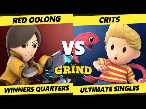 Smash Ultimate Tournament - Red Oolong (Mii Gunner) Vs. Crits (Lucas) The Grind 111 SSBU W. Quarters