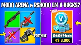 FORTNITE-LOOT MODE ARENA and KID SPENDS £8000 IN V-BUCKS?