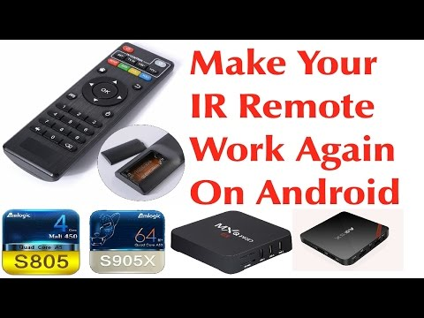 ANDROID FIRMWARE IR REMOTE TUTORIAL - ENABLE YOUR IR REMOTE CONTROL ON NEW ANDROID FIRMWARE