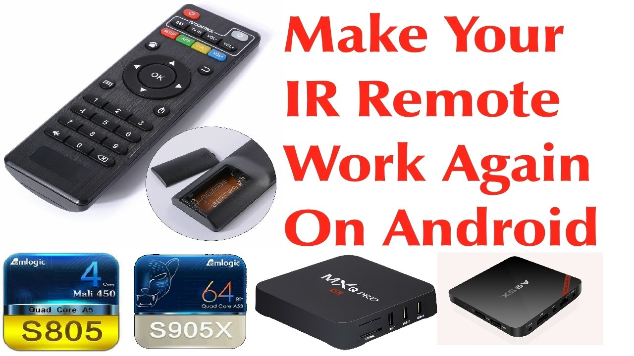 TUTORIAL: Android Firmware IR Remote Control, Enable Your