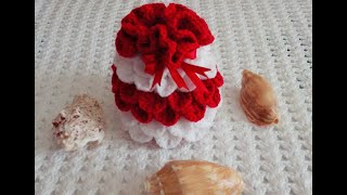 crochet wedding cake bag design (sinhala)
