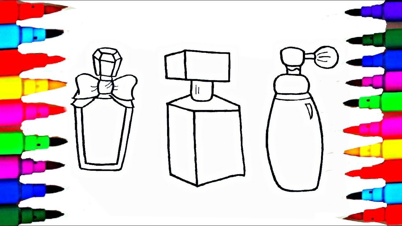 coloring pages perfume - photo#15