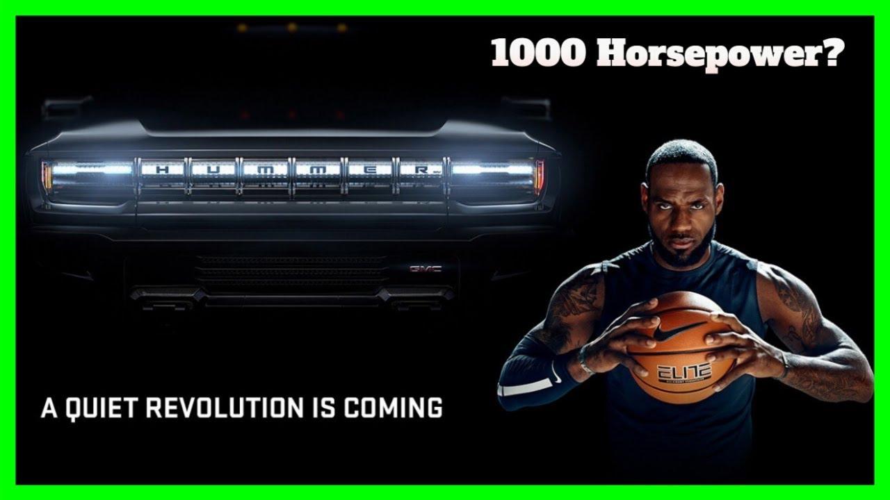 GMC 1000 Horsepower Hummer EV Revealed With LeBron James ...