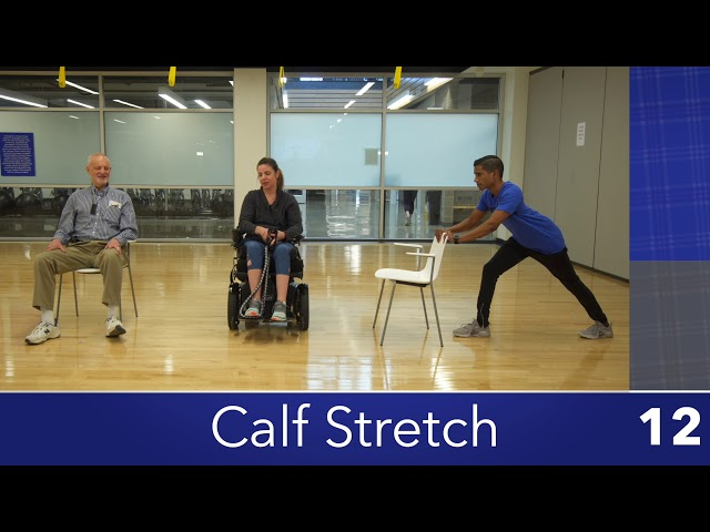 Modified Calf Stretch