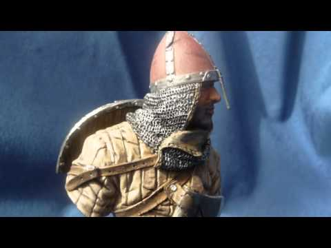 """Young Miniatures """"Norman Knight at the Battle of Hastings 1066"""" 1/10 scale bust"""