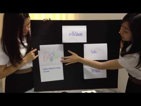 สื่อการศึกษากลุ่มที่24 วิชาสุขศึกษาป.3 สื่อการสอนเเผ่นป้ายความรู้
