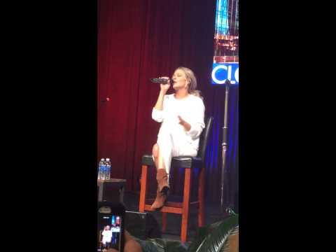 Leann Rimes Sings 'Spitfire' on CMA Closeup Stage - CMA Fest 2014