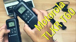 motorola TLKR T60 radiotrasmittente pmr uhf review trasceiver