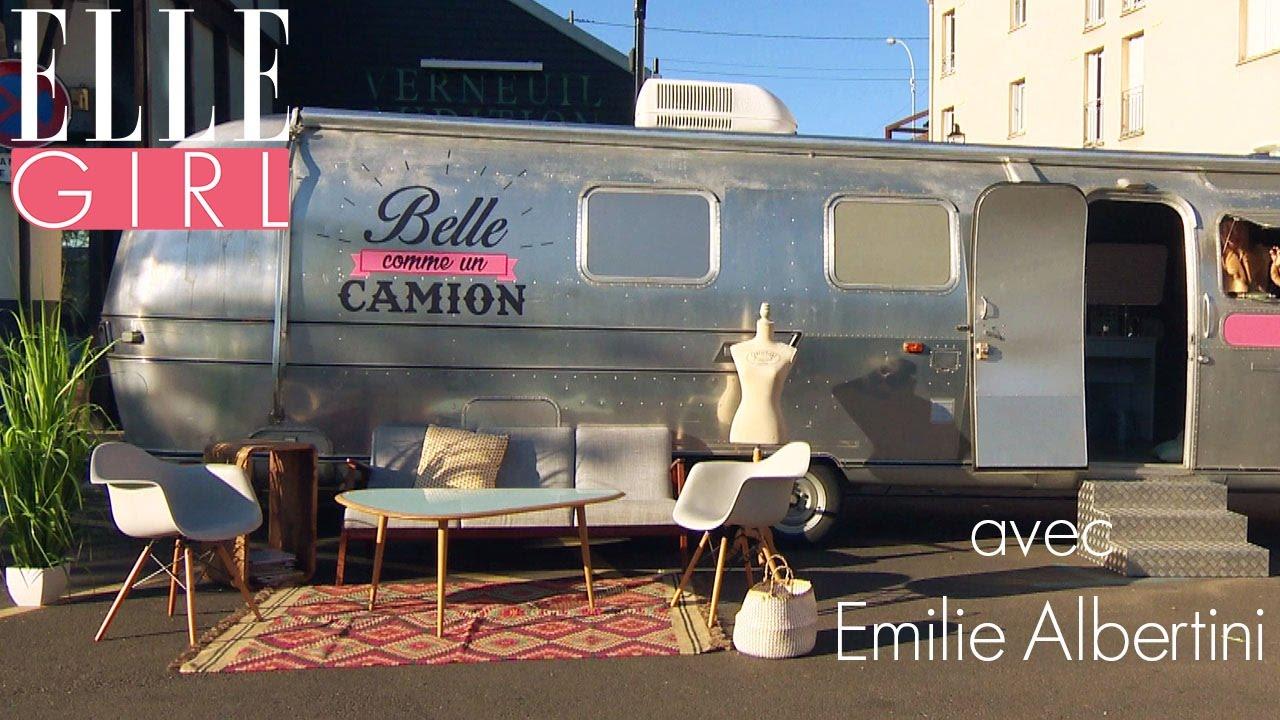soyez belle comme un camion avec emilie albertini d s le 20h55 en exclusivit sur elle. Black Bedroom Furniture Sets. Home Design Ideas