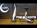 Luna cycle offers one mile scooter in usa
