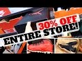 SHOPPING FOR STEALS! 30% OFF ENTIRE STORE AT NIKE OUTLET!!