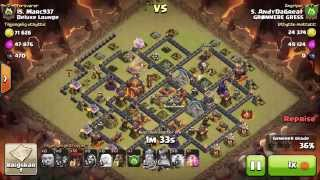 3 star. AndydaGreat vs Marc937. CW. Clash of Clans