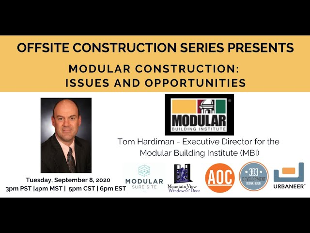 Modular Construction: Issues and Opportunities