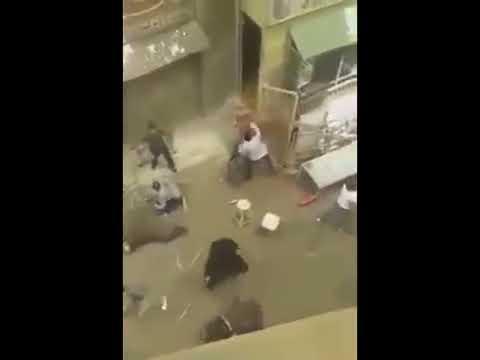 كواليس تصوير مشهد خناقة رفاعي الدسوقي مع عصام النمر في مسلسل الاسطورة