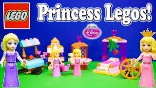 DISNEY PRINCESS Sleeping Beauty & Rapunzel Lego Sets Lego Toys Video Unboxing