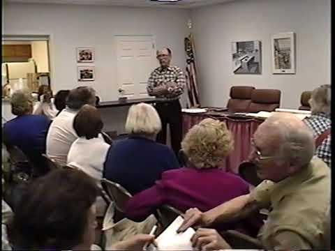 Adams family history in Crete, IL, October 2000