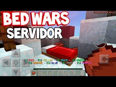 Сервера Майнкрафт PE 0.13.0 с Bed Wars