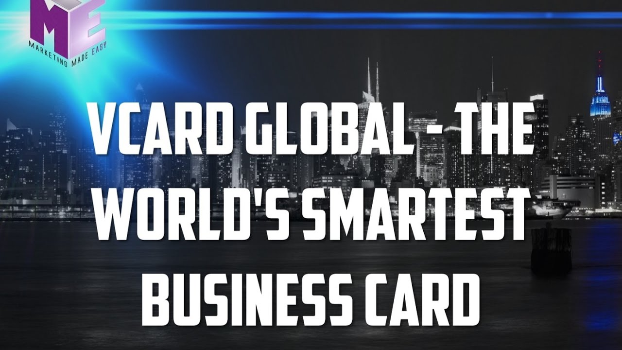 30 Day Free Trial - VCARD GLOBAL THE WORLD\'S SMARTEST BUSINESS ...