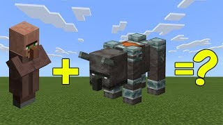 I Combined a Villager and a Ravager ( Illager Beast ) in Minecraft - Here's What Happened ...