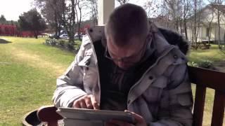 Kunst undervisning på iPad