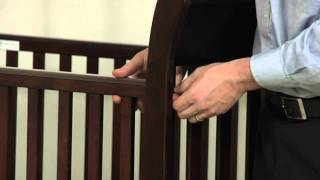 Crib Assembly Sleigh Crib | Pottery Barn Kids