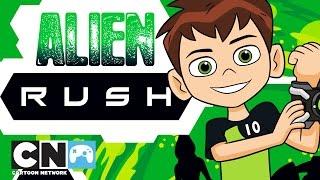 Ben 10 | Alien Rush Playthrough | Cartoon Network