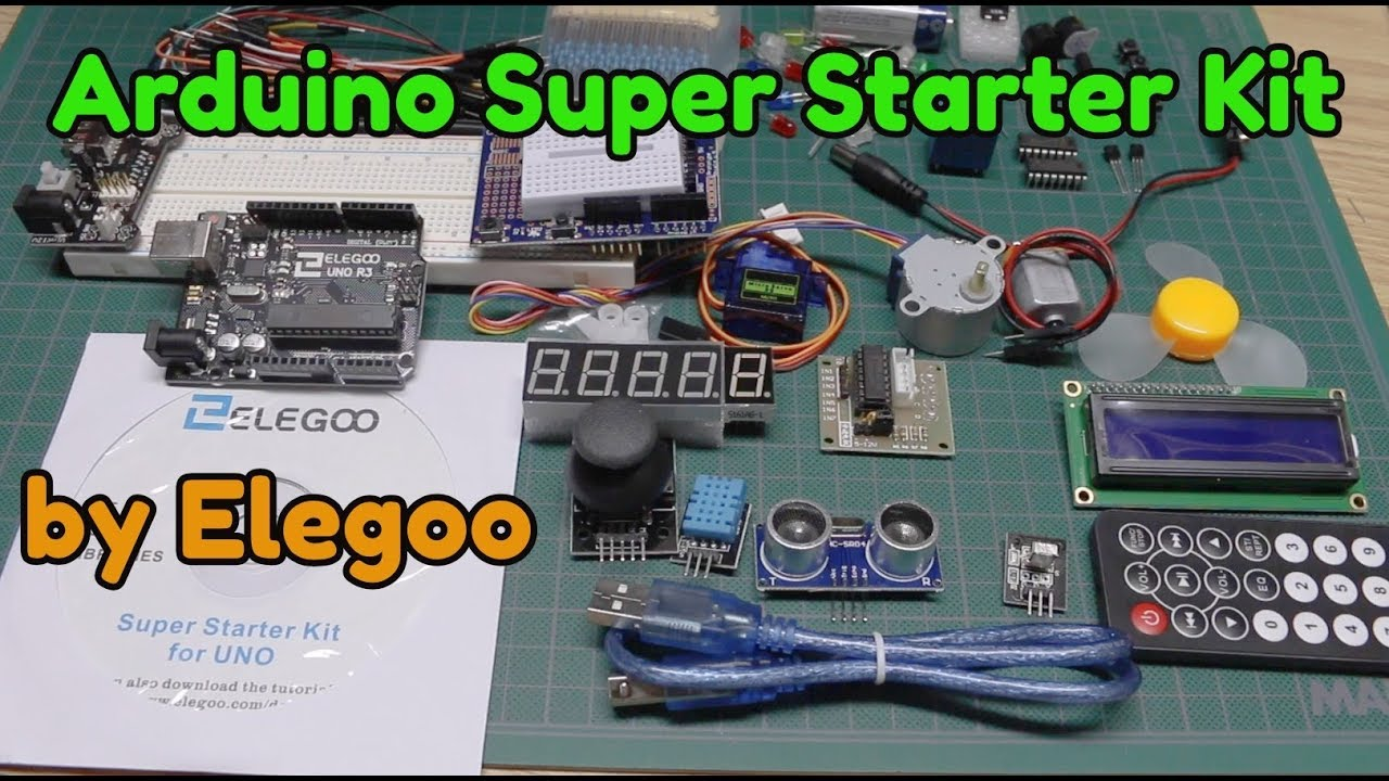Elegoo Arduino Uno Super Starter Kit - What's inside?