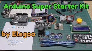 Elegoo Arduino Uno Super Starter Kit - What's inside?