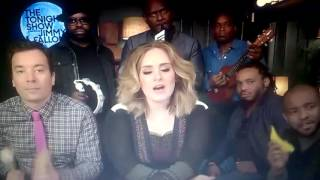 Jimmy Fallon,Adele I The Roots Sing,,Hello