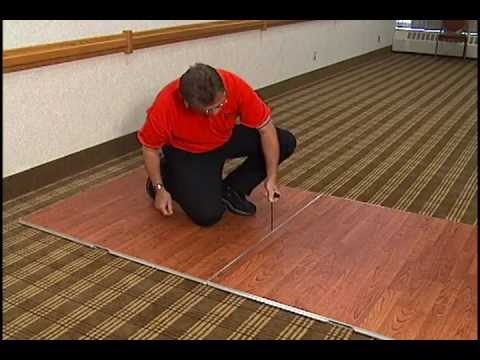 SICO®  CAM-LAM Portable Dance Floor Assembly