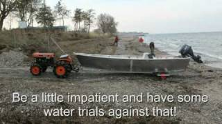 aluminium boat building project