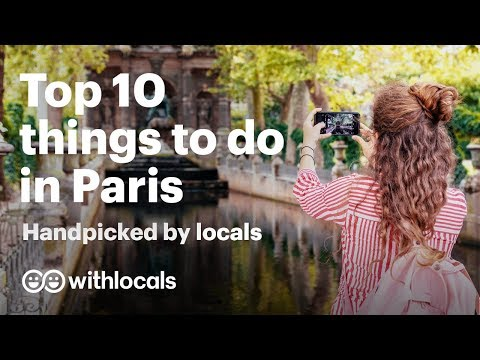 The BEST things to do in Paris 🇫🇷 what to see and do in Paris 👫 handpicked by locals