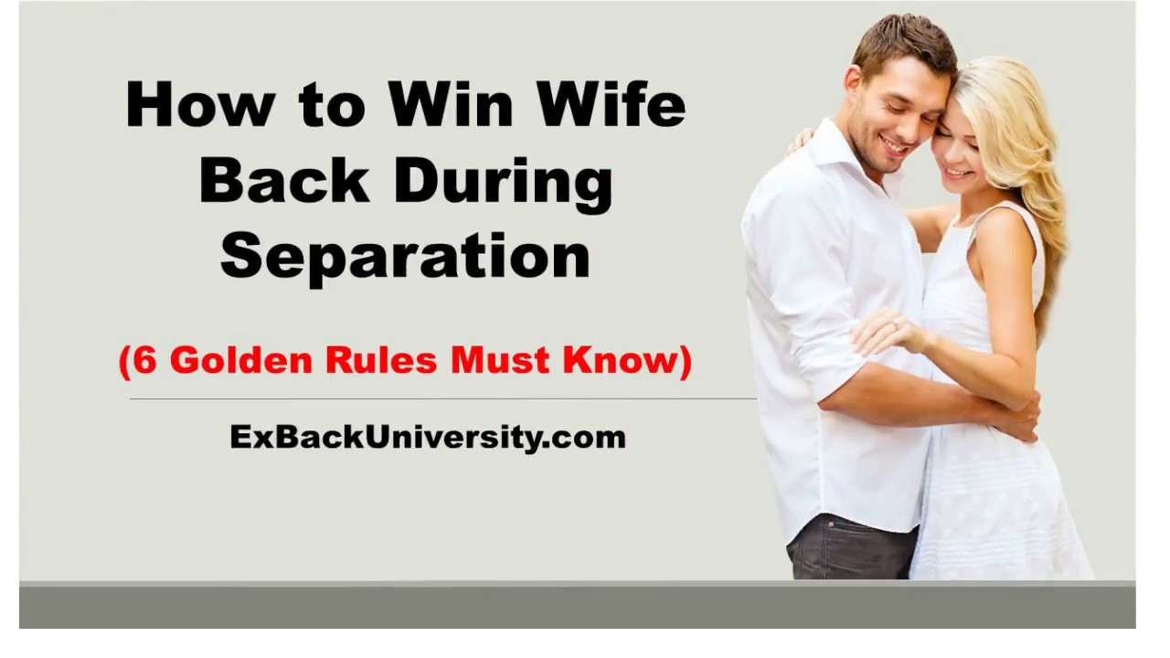 Dating my husband after separation