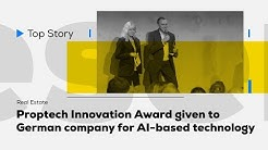 PropTech Innovation Award given to Dabbel for AI-based technology
