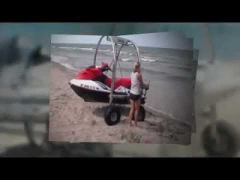 how to build a jet ski beach cart