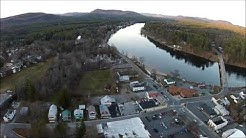 Corinth Ny From  a birds eye view.