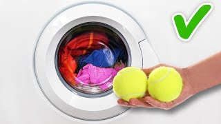 20 SMART HACKS FOR QUICK AND EASY LAUNDRY DAY