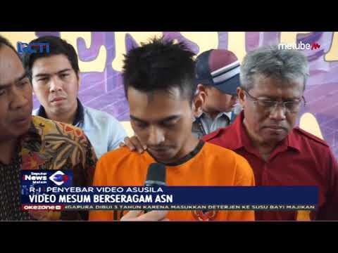 Perekam Dan Penyebar Video Mesum Berseragam ASN Ditangkap Polda Jabar - SIM 20/09