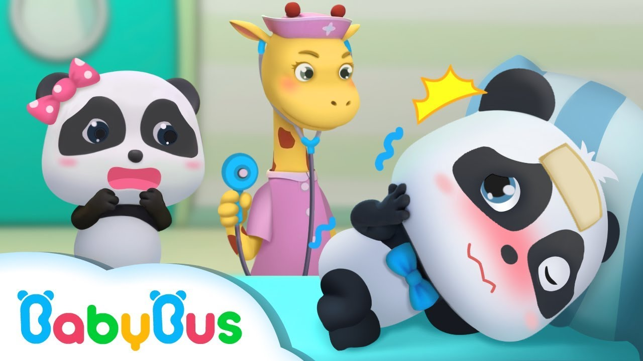 Baby Panda Pretends to Catch a Cold | Kids Cartoon | Doctor Cartoon | Kids Songs | BabyBus